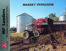 "MASSEY FERGUSON VARIOUS LOADERS for COMPACT TRACTORS  SALES BROCHURE ""NEW"""