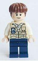 Lego Jurassic World Vet jw006 (From 75920) Minifig Minifigure Figurine New