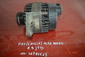 ALTERNATORE FIAT ALFA LANCIA 1.9 JTD 46782213
