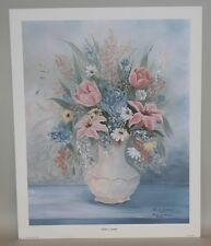 1988 Bonnie Overstreet Signed & Numbered 20x16 Print Mother's Garden 198/1000