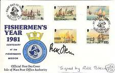 MASTER CHEF personally signed FDC - RICK STEIN