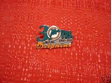 Miami Dolphins 30th Anniversary 1966-1996 in NFL Pin