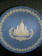 Wedgwood 1972 Annual Christmas Plate St Paul's Cathedral Plate w/ Box