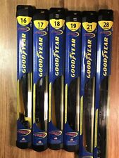 2005-2014 Ford Mustang Goodyear Hybrid Style Wiper Blade Set of 2