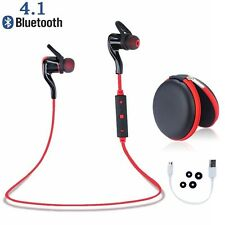 Bluetooth 4.1 Wireless Stereo Earphone Earbuds Sports Headset Headphone Jog Run
