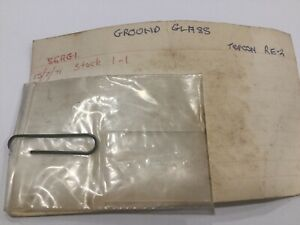 TOPCON Ground Glass - Suit Topcon RE2 - P/N 56AG1 - New Old Stock circa 1971