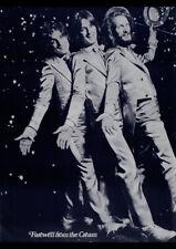 CREAM FAREWELL TOUR 1968 VINTAGE CONCERT POSTER REPRO ART PRINT