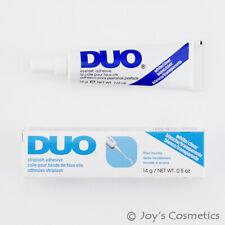 "1 DUO Striplash Adhesive Waterproof Eyelash glue "" 14g White / Clear "" Joy's"