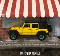 Greenlight Green Machine 2015 Jeep Wrangler Unlimited Hard Rock Edition Chase