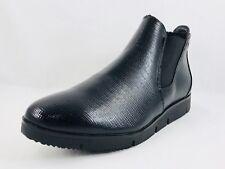 Cougar Sass Patent Black Snake Women's Waterproof Boots Size 9.5 NIB