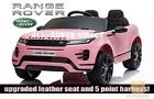 LICENSED PINK 2021 RANGE ROVER EVOQUE 12V ELECTRIC KIDS CHILDS RIDE ON JEEP CAR