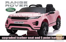 LICENSED PINK 2020 RANGE ROVER EVOQUE 12V ELECTRIC KIDS CHILDS RIDE ON JEEP CAR