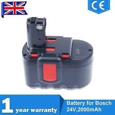 2.0ah Battery for Bosch 2607335537 2607335538 13624 24 Volt Ni-cd Cordless Drill