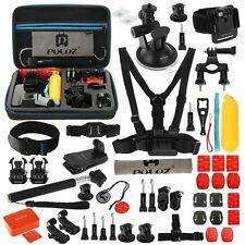 PULUZ 53 in 1 Accessories Bundle Ultimate Combo Kit + EVA Case for GoPro 6 5 4 3