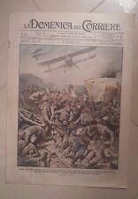 LA DOMENICA DEL CORRIERE 6-13 OTTOBRE 1918 PRIMA GUERRA MONDIALE N. 40 MACEDONIA