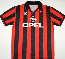 1994-1995 AC MILAN LOTTO HOME FOOTBALL SHIRT (SIZE L)