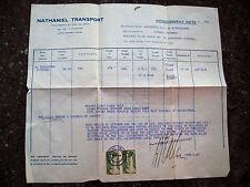 1940 BEIRUT LIBANO CASSE VINO X LEGAZIONE ITALIANA A BAGHDAD NATHANIEL TRANSPORT