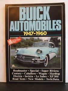 BUICK AUTOMOBILES 1947-1960 - R.M. CLARKE Paperback Brooklands Books