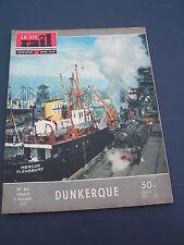 vie du rail 1957 621 DUNKERQUE FERRY FLANDRE FRANçAISE