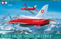 Tamiya 89784 1/48 Scale Aircraft Model Kit Swiss/Royal Air Force BAE Hawk MK.66