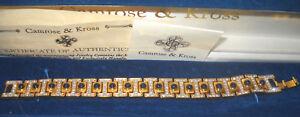 "RARE Camrose & Kross Jacqueline Jackie Kennedy ""I"" Bracelet"