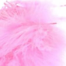 Marabout Feathers Pink x 50 app Floristry Mlilinery craft bridal design unwired