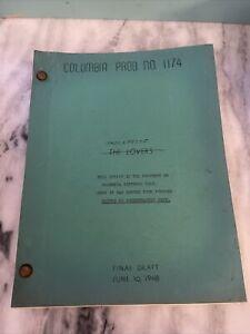 SHOCKPROOF Original 1948 Film Noir Script Patricia Knight Columbia Pictures Rare