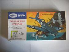 TESTOR HAWK Douglass sbd-5 Dauntless,  scala 1/72
