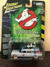 JOHNNY LIGHTNING WHITE LIGHTNING GHOSTBUSTERS 1959 ECTO 1 CADILLAC 1/64