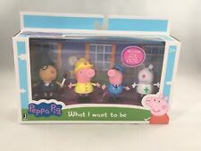 Peppa Pig What I Want to Be 4 Pack Figure Set