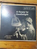 A Gypsy By Candlelight ~ (RARE) Double EP Vinyl 45rpm Emery Deutsch Orchestra