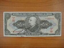 Billet Brésil, Brazil,  grande signature