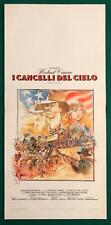 LOCANDINA ORIGINALE I CANCELLI DEL CIELO MICHAEL CIMINO KRIS KRISTOFFERSON CULT