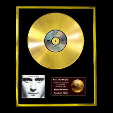 PHIL COLLINS  FACE VALUE CD GOLD DISC RECORD FREE P&P!