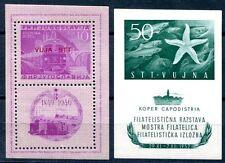 TRIEST B 1949 BLOCK1A,2 ** POSTFRISCH TADELOS 320€(E7778