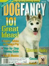 1999 Dog Fancy Magazine: Siberian Husky/Chinese Crested/German Hovawart