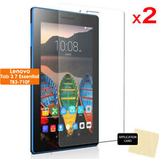 "2x CLEAR Screen Protector Cover Guards for Lenovo Tab 3 7"" Essential TB3-710f"