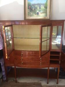 China cupboard crystal cabinet