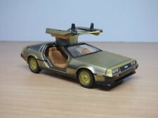 DMC DE LOREAN stainless gold 1/43  DELOREAN