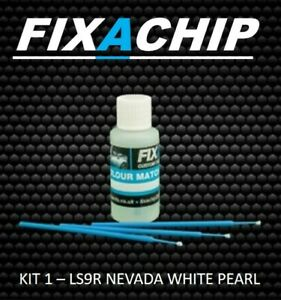 SEAT CAR TOUCH UP PAINT - CODE LS9R - NEVADA WHITE PEARL (KIT 1)