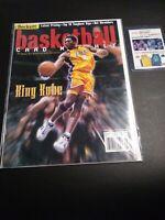 Beckett Basketball Card Monthly Kobe Bryant On Cover King Kobe + Card