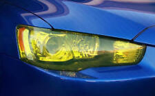 Rallye Scheinwerfer Folie Tönungsfolie Gelb 100 x 30cm Rückleuchte Front