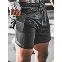 Sports Men's Shorts Training Bodybuilding Summer Workout Fitness GYM Short Pants
