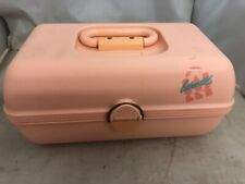 Caboodles organizer - peach/pink - makeup jewelry case