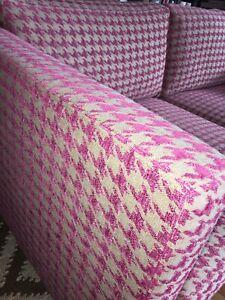 Kleines Lambert Corner Sofa 2sitz., Designer's Guild-Bezug Fuchsia- Pink w.neu