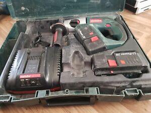 METABO KHA 24 28V Cordless Combination Hammer Drill