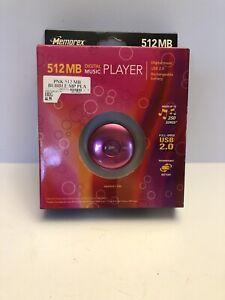 Memorex MP3 Digital Music Player 512 MB Pink USB 2.0 New Sealed