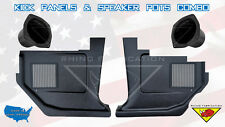 1967 Fairlane, Ranchero, Falcon, Comet Kick Panels Speaker Grill & Speaker Pots