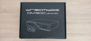 Dreambox DM900 UHD 4K Dual DVB-S2 Tuner  Sat Receiver+Bluetooth-Dongle+500GB HDD