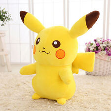 Pokemon Go Cute Pikachu Figure Plush Toys Large Soft Stuffed Doll 10''/25cm